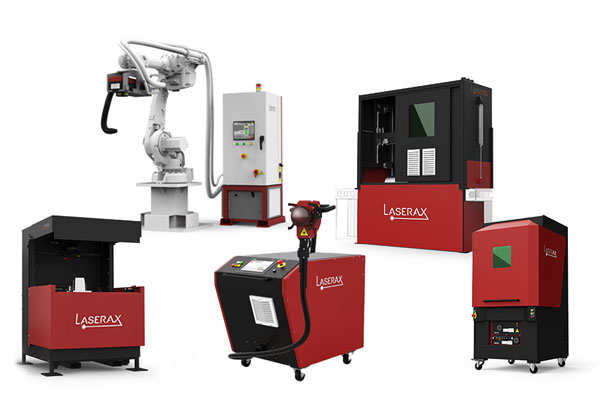 Laser cleaning machines grouped