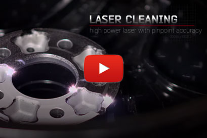 Paint Removal with laser cleaning machine