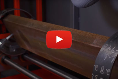 Laser rust removal video